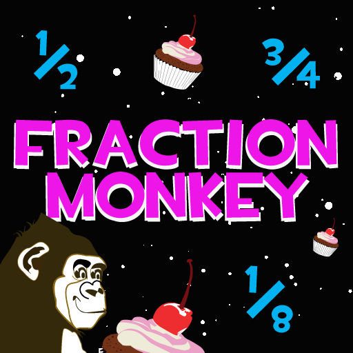 Fraction Monkey - Math Game for Kids