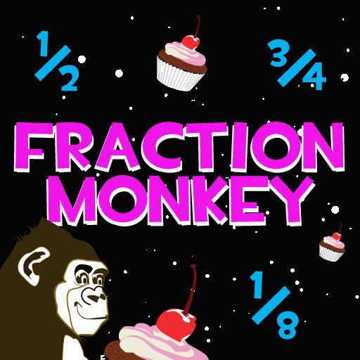 Fraction Monkey - Math Game for Kids