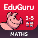 EduGuru Maths Kids age 3-5 educational games
