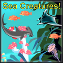 Sea Creatures Voice Flashcards