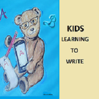 Kids Learning To Write