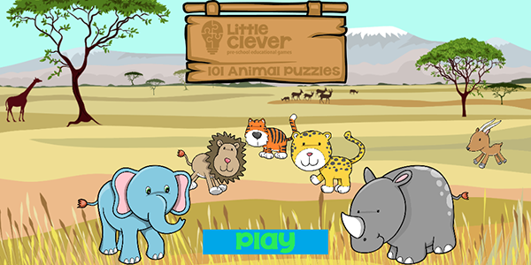 101 Animal Puzzles for Kids