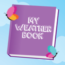 Writing and Colouring Activity Book of Weather Words – a Montessori letter shape tracing activity app