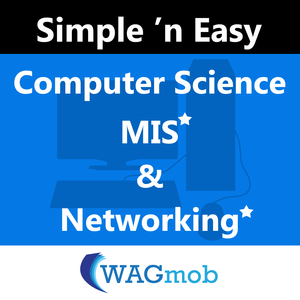 Computer Science, MIS (In-app) & Networking (In-app) by WAGmob