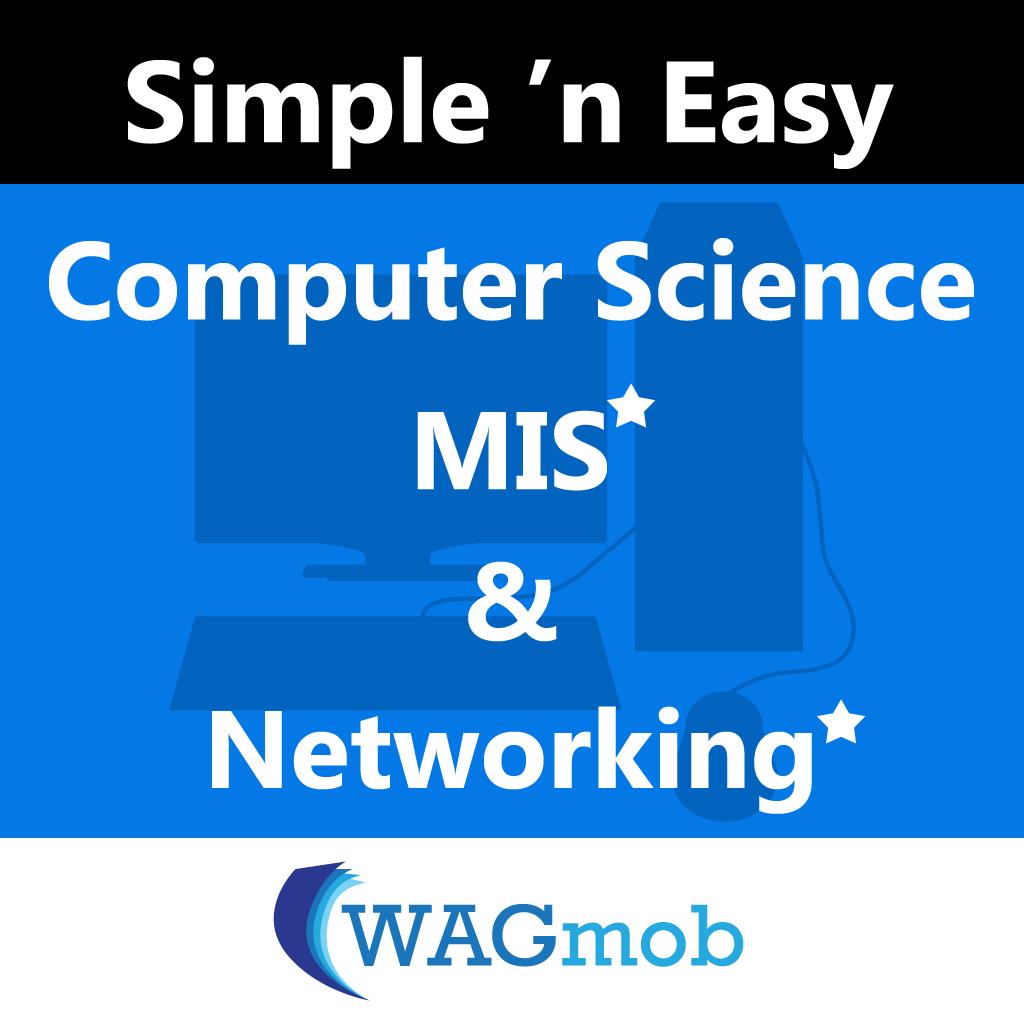 Computer Science, MIS (In-app) & Networking (In-app) by WAGmob