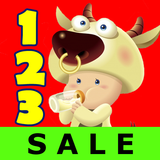 123 Animals Counting - Kids / Toddler Voice Flash Cards Game