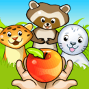 Zoo Playground - Educational games with animated animals for kids