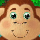 Kids Academy • 5 Little Monkeys - Interactive Nursery Rhyme. Fun music educational app for Baby, Toddlers and Preschool children.