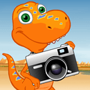 Dinosaur Train Camera Catch!