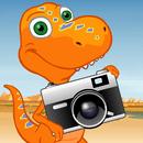 Dinosaur Train Camera Catch!