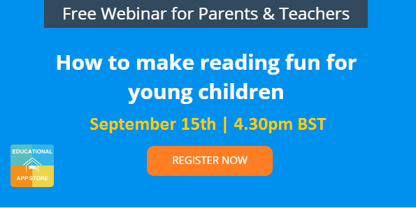 How to make reading fun - webinar